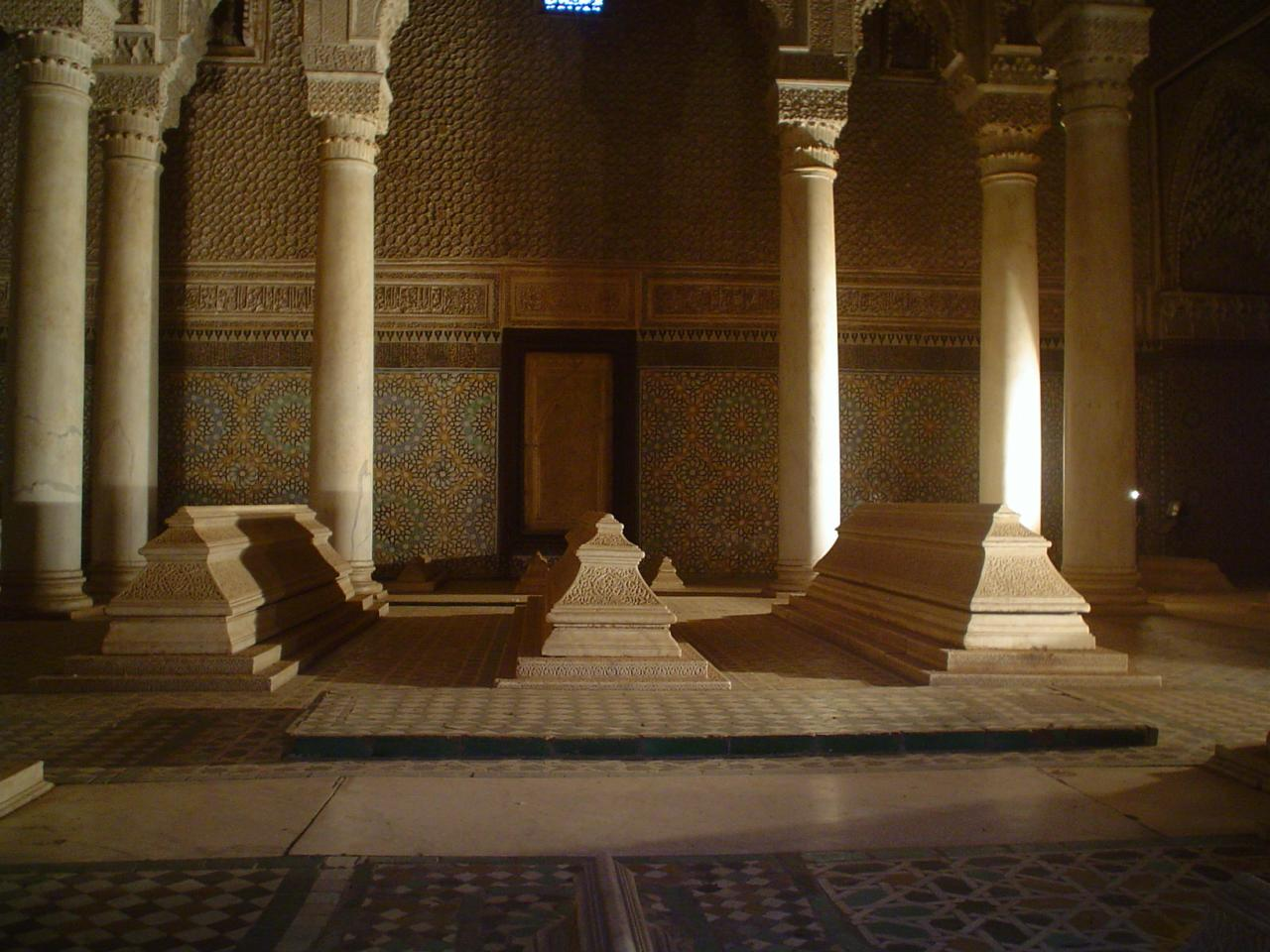 Saadian Tombs in Marrakech