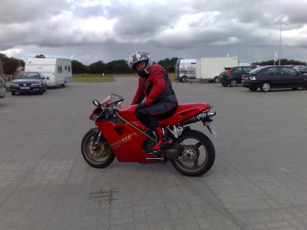 Me On My Beloved Ducati 748 Kincaid333 Flickr