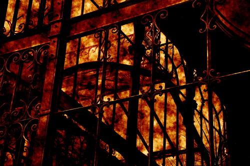 Burning House...