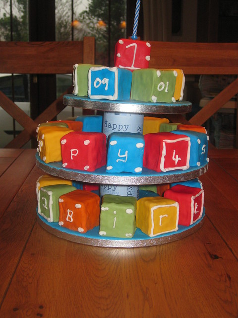 Building Blocks Birthday Cake | Flickr - Photo Sharing!