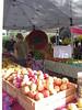 At the Lane County Farmer's Market, downtown Eugene, Oregon