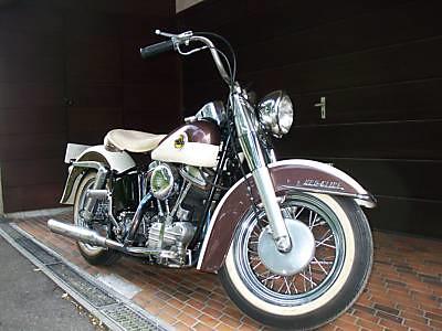 Harley Davidson 1958 Duo-Glide Pan Head
