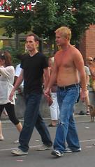 24june07064 (buzzchap) Tags: street blue shirtless summer ...