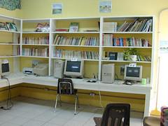 building, furniture, room, property, interior design, real estate, office, desk,