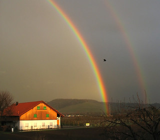 Fascinating Nature - First Double Rainbow