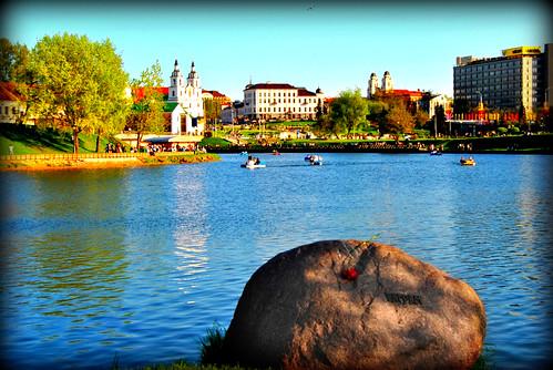 Nemiga river, Minsk