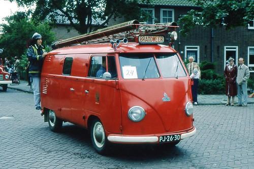 PJ-26-30 Volkswagen Transporter bestelwagen 1955