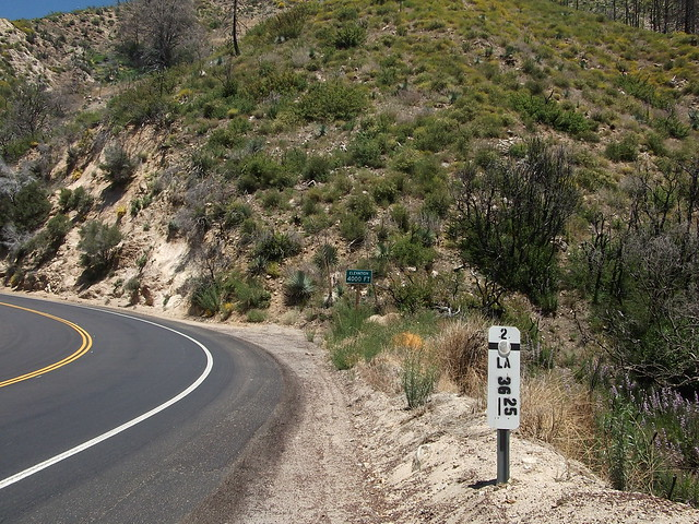Wrightwood Elevation : Angeles crest highway reopens hwy from la