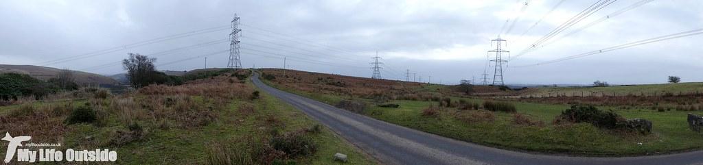 P1060832 - Route of the proposed Mynydd y Gwair wind farm access track