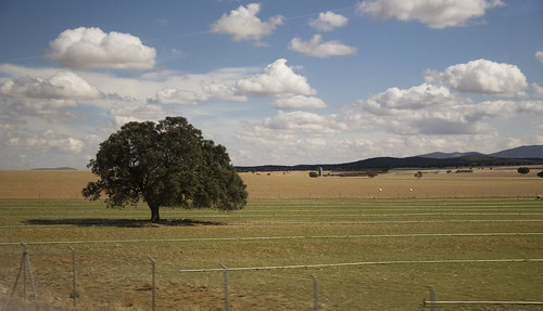 View of Castilian countryside