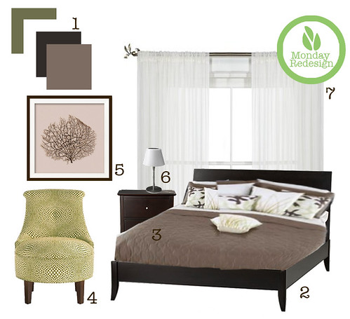 Monday redesign cozy modern bedroom for Redesign bedroom