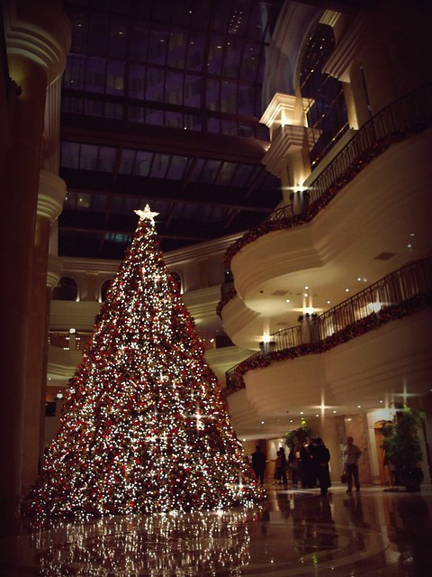 Christmas Tree - Grand Hyatt Taipei