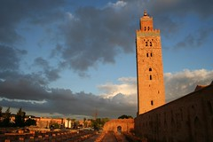 Minarete da Koutoubia em Marraquexe