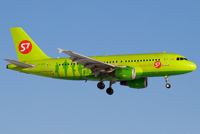 VP-BHK S7 - Siberia Airlines  Airbus A319-114