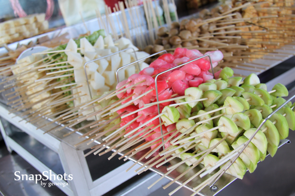 Fruits in sticks