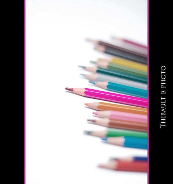 Purple pen..