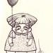 2008. Niña con globo