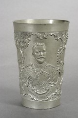 Theodore Roosevelt-Prince Henry Pewter Cup, ca. 1902