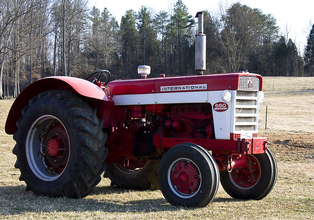 1960 International Tractor : Diesel international tractor flickr photo