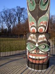 totem pole, art, sculpture, tiki, totem,