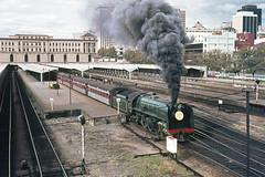 Australian Railway Historical Society Vintage steam locomotives Adelaide, South Australia