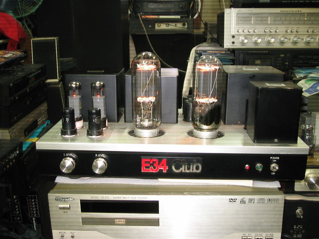 845单端纯a类三极管 功率放大器