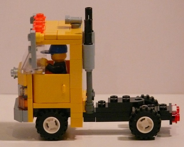 Lego Tractor Trailer : Lego tractor trailer imgkid the image kid has it