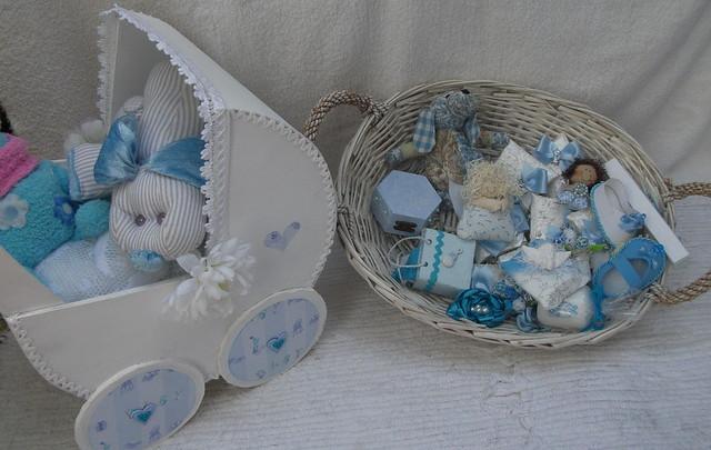 Cestas Decoradas para Lembranças de Casamento Ou baptizado | Flickr ...