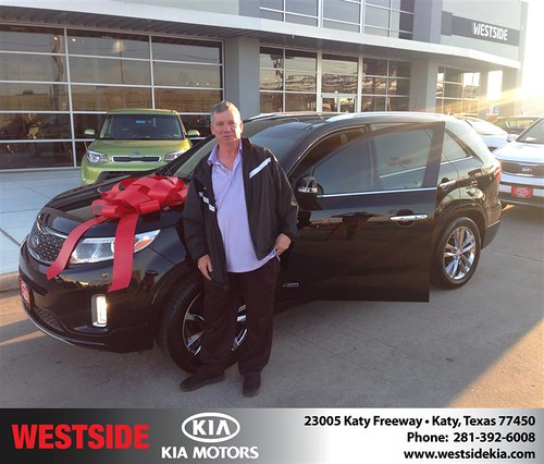 Thank you to Robert Hayward on your new 2014 #Kia #Sorento from Rick Hall and everyone at Westside Kia! #NewCar by Westside KIA