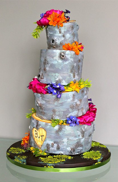 Tree Bark Cake by The People's Cake