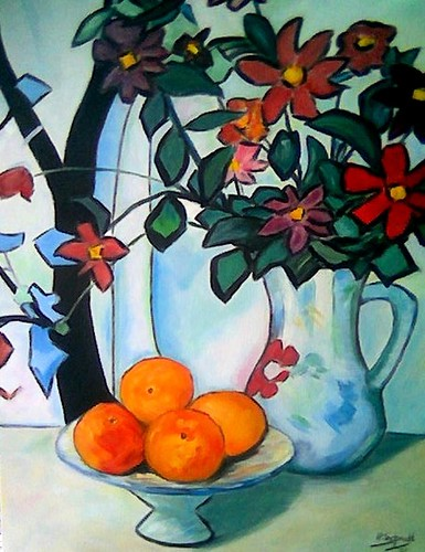 Still Life After S. Peploe (Scottish Artist)