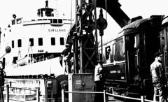 DSB - Sjaelland - 1950 - Korsör - Coll: J.J.B.