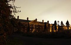The front building of West Park Asylum.