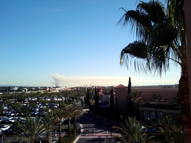 SJC Brush Fire Smoke