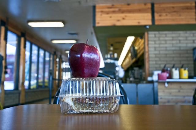 Apple on Pie