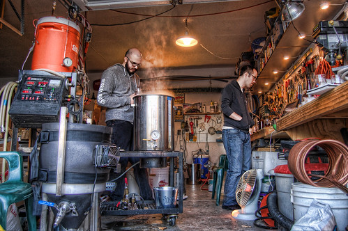 Brewing with JP and Staley