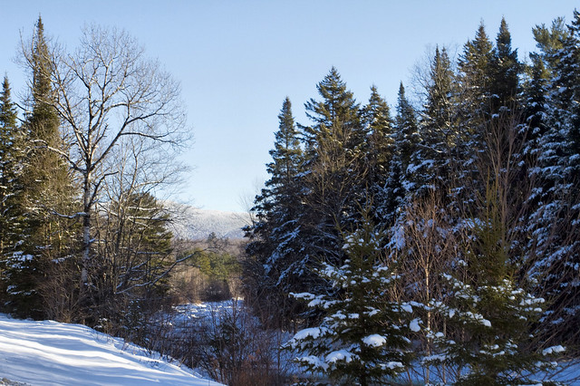 Winter mountain scenery flickr photo sharing - Beautiful panoramic view house to take full advantage of the scenery ...