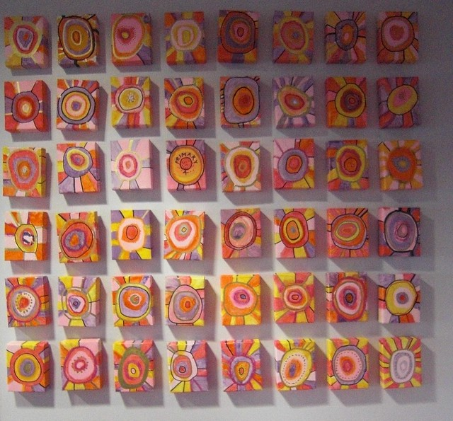 Collaborative Classroom Art Project ~ Northmuir installation flickr photo sharing