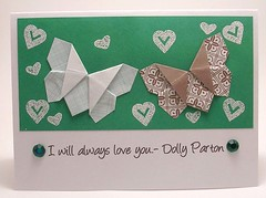 Paper Green 41 Photos | Custom Order for alicebors- Dolly Parton Thank You Card