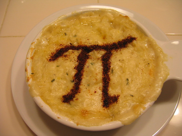 happy Pi day! | Wasn't feeling up to a crust today, so I mad ...