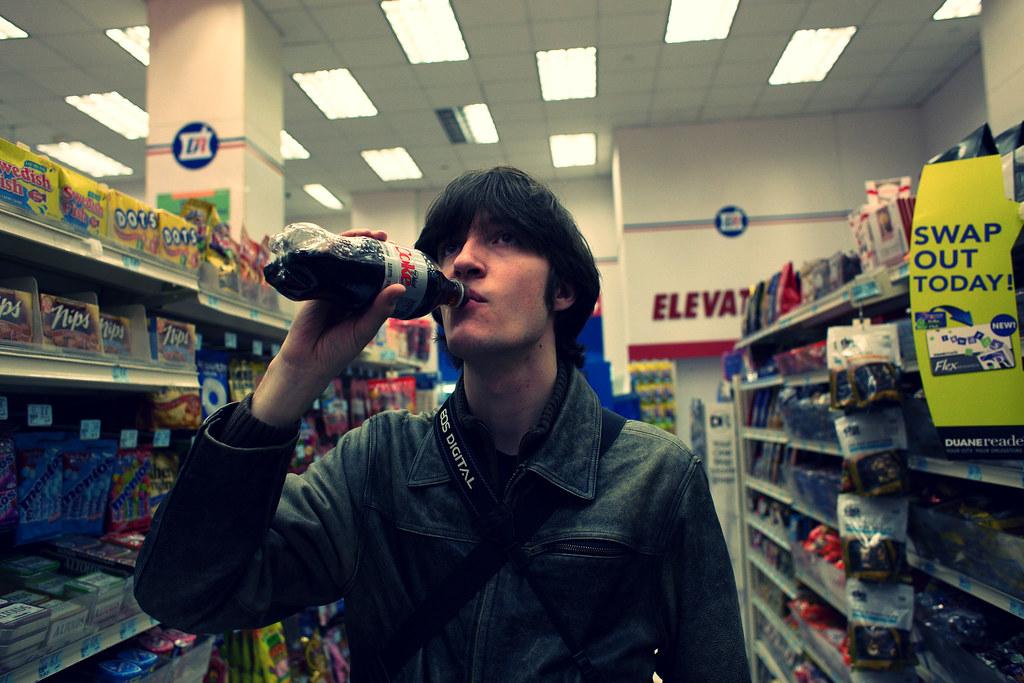 Diet Coke Man