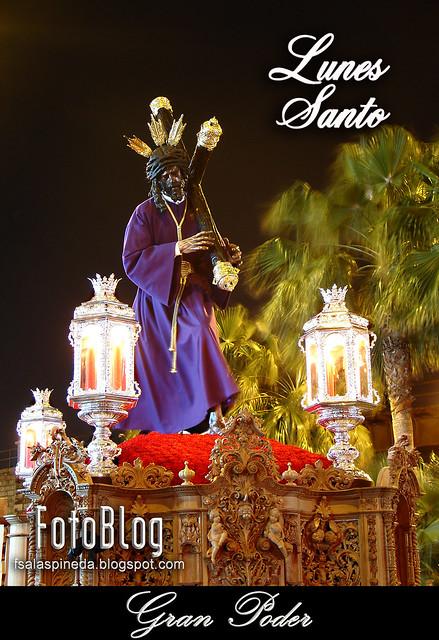 Almería, Semana Santa 2010. Cofradías del Lunes Santo.