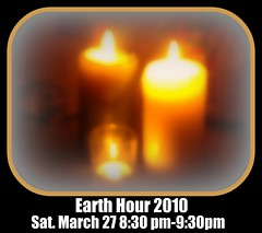 EARTH HOUR! Join me!