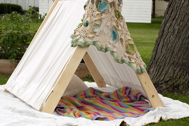 lazy day birthday tent