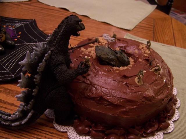 Godzilla  Cakes