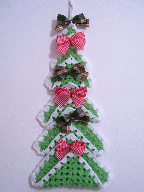 Crochê misterioso de Natal