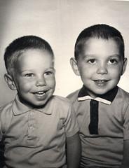 Two boys, circa 1963