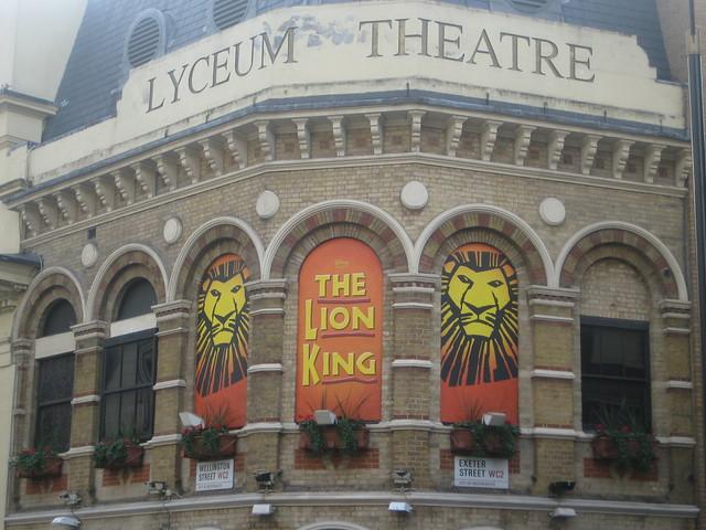 the lion king lyceum theatre breaks london
