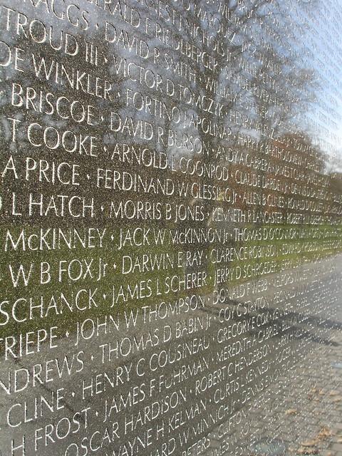 Vietnam Veterans Memorial Wall Home Design Ideas