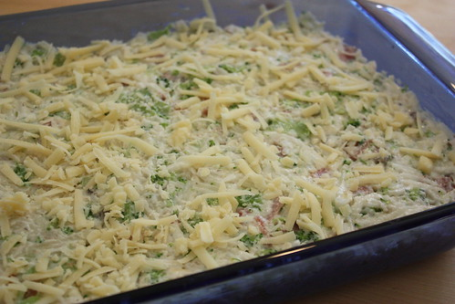 Ham & Broccoli Hash Brown Casserole | by mealmakeovermoms